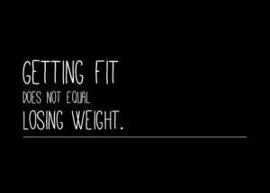 Skinny Doesn't Mean Fit