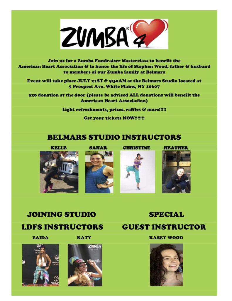 Zumba Fundraiser Belmars